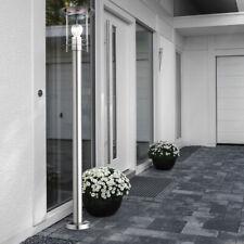 Outdoor light stainless steel floor lamppost garden lantern porch patio lighting