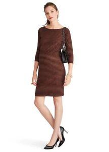 Hatch Maternity Women's THE MILA DRESS Navy/Spice Size 3 (LRG/12) NEW