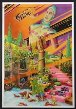 Wplj New York Rock Radio Psychedelic 1971 Promotional Poster