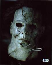 Tyler Mane Halloween Authentic Signed 8X10 Photo Autographed BAS 3