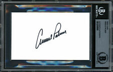 Arnold Palmer Authentic Autographed Signed 3x5 Index Card Beckett 12058909