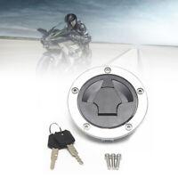 Universal Modified Motorcycle Motorbike Fuel Gas Tank Cap Lock Key Accessories