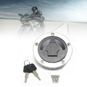 Universal Modified Motorcycle Motorbike Fuel Gas Tank Cap Lock Key Accessories
