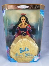 Mattel 1998 Collector Edition Barbie as Snow White Children's Collector NRFB