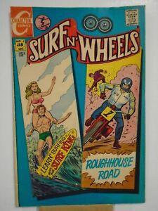 Charlton SURF N' WHEELS #2 (1969) Surf King, Roughhouse Road, Jack Keller