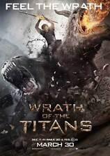 WRATH OF THE TITANS Movie Promo POSTER E Sam Worthington Liam Neeson