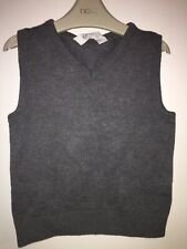 Boys Age 2-4 Years- H&M Grey Sleeveless Jumper Top