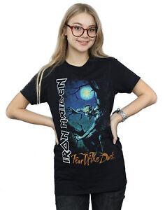 Iron Maiden Women's Fear Of The Dark Boyfriend Fit T-Shirt