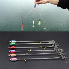 1 PC 3-arm Attach 5 baits Umbrella Alabama  Fishing Rigs Multiple Colors Fish