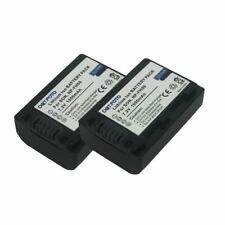 2 x Battery for Sony NP-FH40, NP-FH50   DSLR-A330/A380/A390,DSC-HX1/HX100/HX200