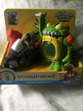 Fisher Price Power Rangers Imaginext Terror Toad and Putty NEW RARE