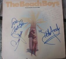 Beach Boys SIGNED Smile/Friends Carl Wilson VERY RARE Greeting. Brian,Mike,Bruce