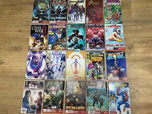 Joblot Bundle Marvel Comics Thanos Vltron A Force Wolverine Hawley's Spiderman