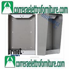 Custodia a parete senza cornice con visiera 2 moduli URMET 1148/312