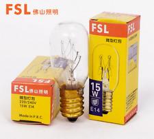 FSL 220V/240V 15W  E14 long life Refrigerator  cooker hood light lamp bulb