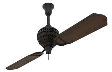 "Hunter  60"" 1886 Limited Edition Midas Black Ceiling Fan"