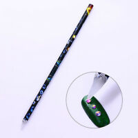 Rhinestone Picker Pencil Tool Nail Art Gem Crystal Pick Up Decor Tool Wax Pen