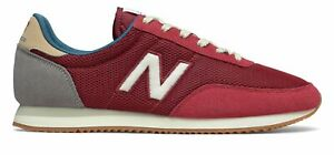 New Balance Unisex 720 Shoes Red with Brown