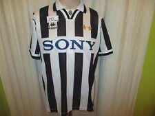 "Juventus Turin Original Kappa Heim Trikot 1995-1997 ""SONY"" Gr.S- M TOP"