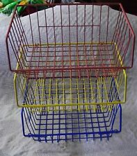 Stackable Wire Storage Containers