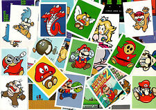 Super Mario Bros sticker - 1992 Nintendo NES retro Games Console (smx2)