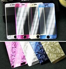 Cristal templado delantero y trasero  3D metalizado para Iphone 5-5S y 6-6S