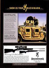 2008 BROWNING X-Bolt RIFLE AD U.S. Army HUMVEE in Iraq Joseph Mamerow, Texas