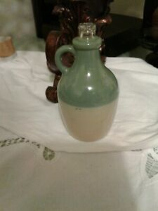 Old Ozarks Molasses Sorghum Syrup Jug Glass Bottle Vintage Antique Small Little