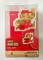 SUPER MARIO BROS Usb Light Official Nintendo Gadget  20 cm cavo