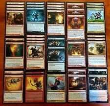 SMASH 'EM! * Minotaur Black Red Custom 60 Card Aggro Magic MTG Deck *