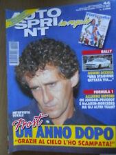 Autosprint 44 1994 Superturismo Audi 80 Quattro
