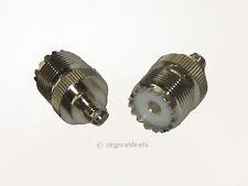 UHF-F SO239 to SMA-F Antenna Adapter For PX-777 PX-888 KG-UVD1P TG-UV2 V-1000