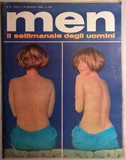 MEN anno I n.3 - dicembre 1966 - con Poster - Brigitte Bardot Ursula Andress