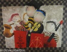 """Graciela  Rodo Boulanger """" Ouverture """" Original Etching Artwork S/N"""