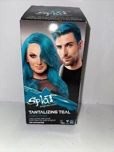 Splat Tantilzing Teal Long Lasting Bold Hair Color One Application Rebellious
