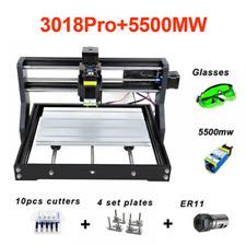 Cnc3018 5500mw Engraver Pro Laser Engraver Wood Cnc Router Machine Grbl Er11