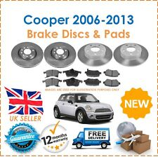Brake Discs & Pads Front And Rear For Mini R56 Cooper One 2006-2013 New