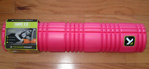 26 in Trigger Point Performance Grid 2.0 Revolutionary Foam Massage Roller Pink