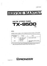 Service Manual-Anleitung für Pioneer TX-9500