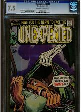 UNEXPECTED #123 CGC GRADE 7.5 DC COMICS 1971 OFF WHITE TO WHITE PAGES BLUE LABEL