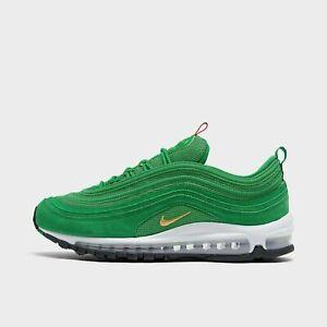 Nike Air Max 97 QS Running Shoes Lucky Green / Gold Olympic CI3708-300 NEW NIB!!