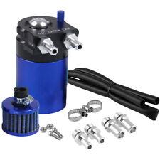 Aluminium Voiture Réservoir Récupérateur d'huile Oil Catch Tank Can Kit