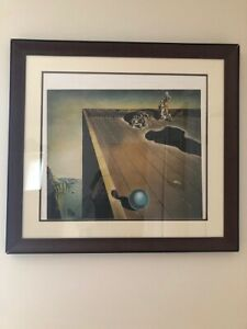 Salvador Dali Lithograph With Signed Certificate