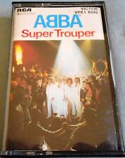 ABBA Super Trouper Cassette Made in Australia VPK1 6542