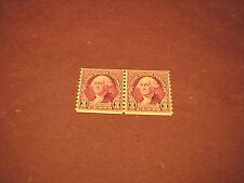 US Stamp Scott#  721 Washington 1932 Pair MNH   C237