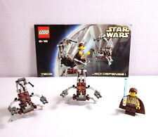 Lego Star Wars Episode I Jedi Defense I Set 7203 Complete with 3 Minifigs
