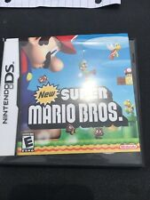Super Mario Brothers DS Game In Box With Manuals