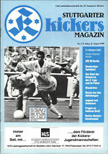 II. BL 90/91 Stuttgarter Kickers - Blau-Weiss 90 Berlin, 11.08.1990 Juan Cayasso
