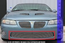 GTG 2004 - 2006 Pontiac GTO 1PC Polished Overlay Bumper Billet Grille Grill