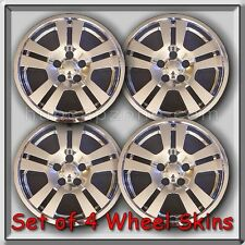 "2007 Lincoln MKX Chrome Wheel Skins 17"" Hubcaps Chrome Wheel Covers Set of 4"